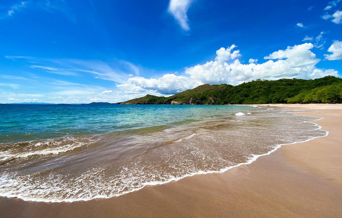 Beach in Guanacaste Costa Rica