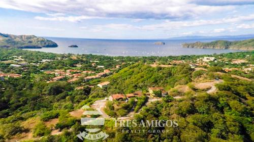 View of the ocean from Isabella in Playas del Coco, Guanacaste, Costa Rica